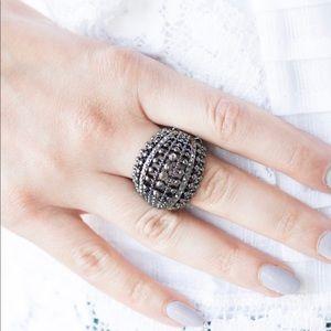 Jewelry - Gunmetal Stretchy Ring